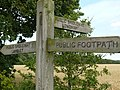 Signs at Ploughman wood - geograph.org.uk - 1098410.jpg