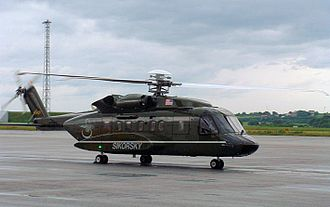 Sikorsky S-92 - An S-92 at Sola Airport, Norway in July 2003