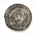 Silvermynt, 8 skilling, 1714 - Skoklosters slott - 109624.tif