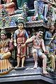 Singapore. Sri Mariamman. Gopuram. South West-10.JPG