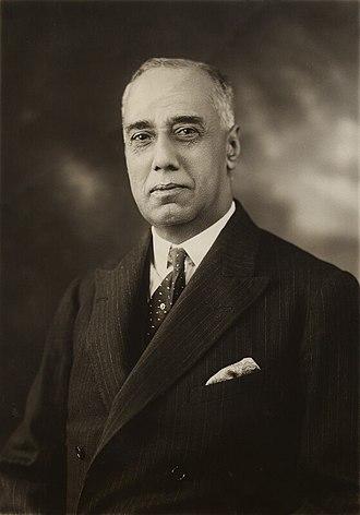 Mian Muhammad Shafi - Image: Sir Mian Muhammad Shafi