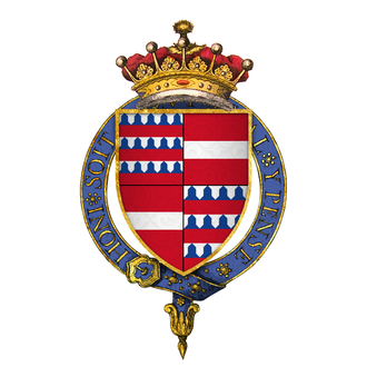 Enguerrand VII, Lord of Coucy - Arms of Enguerrand VII, Lord of Coucy, KG