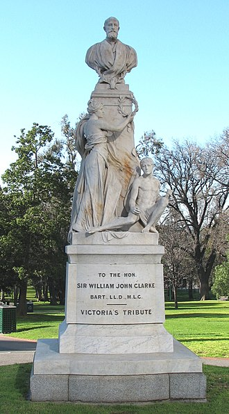 Bertram Mackennal - Sir William John Clarke, Melbourne (1901)