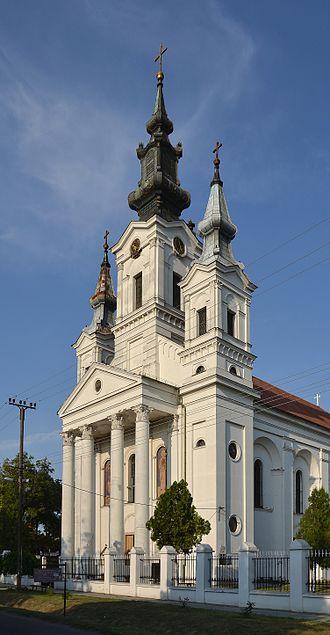 Sivac - The Orthodox church.