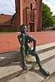 Skulptur Schusterjunge (1996 von Georg Arfmann) in Wittingen IMG 9236.jpg