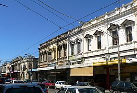 Smith street collingwood looking north