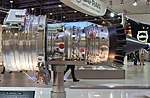 Snecma Silvercrest business jet engine PAS 2013 02.jpg