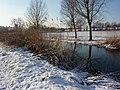 Snowy riverside - geograph.org.uk - 1656150.jpg