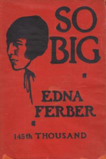 <i>So Big</i> (novel) 1924 novel