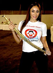 Sofia Hayat Rajasthan Cinema Awards 2015.jpg