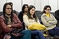 Software Livre e Liberdade de Gênero - Reflexões sobre o Machismo em Rede, com Ana Carolina Pereira, Desiree, Gabriela Guerra, Bárbara Arena, Melina Draldo e Ana Paula Freitas - Foto Tárlis Schneider (19600203692).jpg