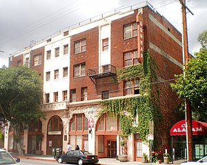 Central Avenue (Los Angeles) - Dunbar Hotel, 2008