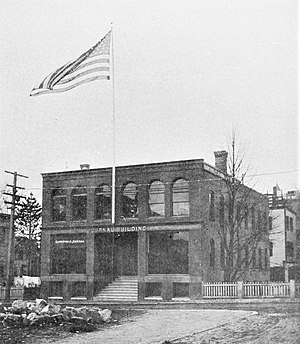 Somerville Journal - Image: Somerville Journal Building 1897