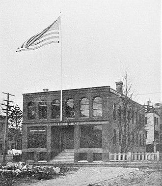 Somerville Journal - Image: Somerville Journal Building 1897