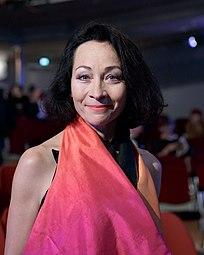 Sona MacDonald Nestroy-Theaterpreis 2016.jpg