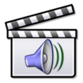 Sound film clapperboard icon.png