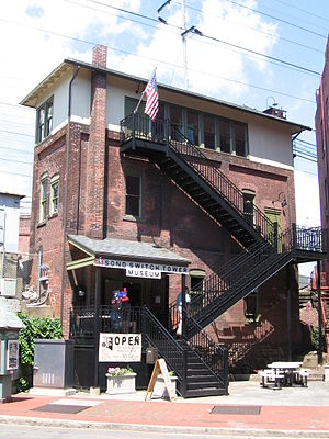 Danbury Branch - South Norwalk Switch Tower Museum
