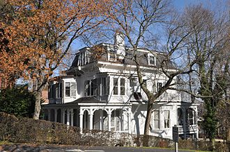 Rockland County, New York - The Carson McCullers House in South Nyack.