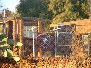 South African Special Forces - South African Special Forces Brigade HQ, Pretoria sign