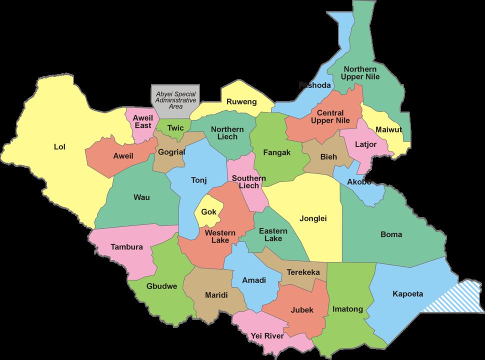 South Sudan-32 States