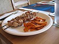 Souvlaki and potato fries.jpg