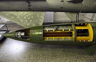 OTR-21 Tochka - 9M79K missile for 9K79 Tochka missile system