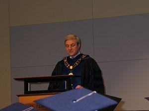 Graham Spanier - Spanier in 2005