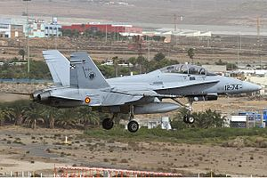 Spanish Air Force McDonnell Douglas EF-18B Hornet Lofting.jpg