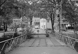 Piermont, New York - Sparkill Creek Drawbridge (1994)