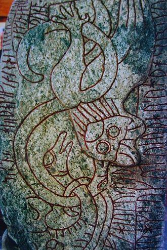 Sparlösa Runestone - Image: Sparlosastenen