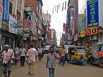 Pettah, Sri Lanka - Image: Sri Lanka 012 Market street around Fort Stn & Harbour (1630266755)