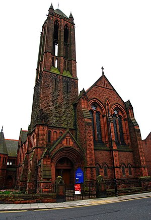 Stockton Road United Reformed Church - Image: St' George's Church panoramio