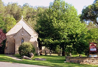 Wollombi, New South Wales - Image: St michaels wollombi