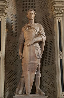St. Georg, Donatello, 1416-17, Bargello Florenz-02