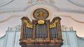St. Martin Kirchham 13 Taube als Symbol des heiligen Geistes im westlichen Langhaus.png