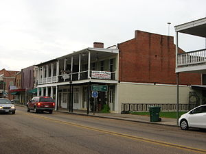St. Martinville, Louisiana - Main Street in St. Martinville