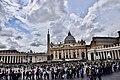 St. Peter's Square and Basilica, Vatican (Ank Kumar) 02.jpg