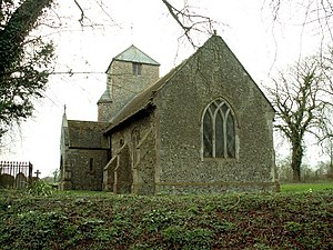 Grade II* listed buildings in Mid Suffolk - Image: St. Peter's church, Athelington geograph.org.uk 362469