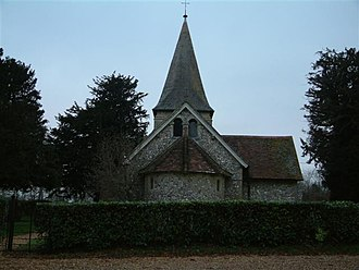 Tangley - Image: St. Thomas of Canterbury Church, Tangley geograph.org.uk 101086