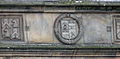 St Andrews - King James Library - coats of arms on the facade 07.JPG