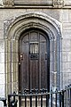 St Bartholomew-the-Great gatehouse door, City of London, England 01.jpg