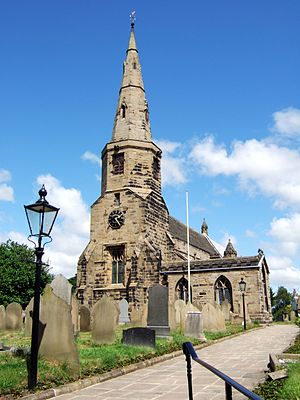 Listed buildings in Halsall - Image: St Cuthbert's Church, Halsall, June 2008
