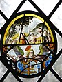 St Edmund's church - stained glass roundel - geograph.org.uk - 661124.jpg