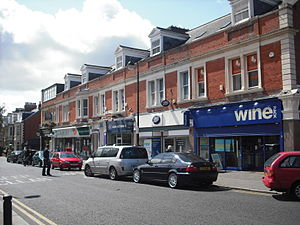 Jesmond - St George's Terrace, in Jesmond's commercial area