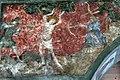 St Jakobus in Reuthe Fresko Martyrium Hl Sebastian zwischen 1420 und 1450.jpg