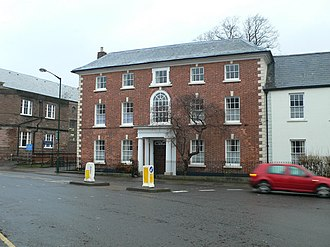 St James Square, Monmouth - Image: St James House, Monmouth geograph.org.uk 648860