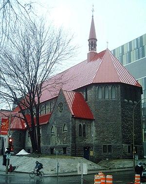 William Tutin Thomas - Image: St John the Evangelist Montreal