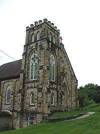 St Joseph's Roman Catholic Church Stone City, Iowa.JPG