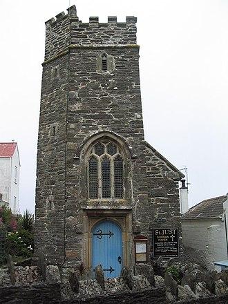 St Goran - Chapel of St Just, Gorran Haven