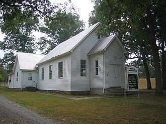 Glebe, West Virginia - St. Luke's Presbyterian Church